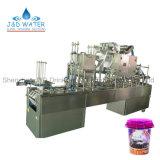 Relleno rotatorio automático de la taza y máquina que capsula del lacre