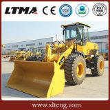 Ltma 2.5m3 Wannen-Kapazität 4 Tonnen-kleine Rad-Ladevorrichtung