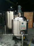 Calefacción eléctrica de acero inoxidable recipiente de mezcla