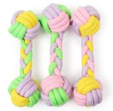 Durable Pet Dog Rope Dumbell Toys pour Chews et Playing
