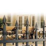 Rete fissa per le ville, decorazione della rete fissa del giardino, rete fissa di picchetto bianca