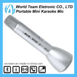 Microfono di condensatore senza fili di karaoke di Bluetooth di mini modo freddo portatile