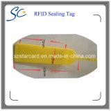 機密保護のための使い捨て可能な13.56MHz RFIDのシールの札