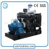 Bomba de agua diesel horizontal de la succión doble del surtidor de China para la industria química