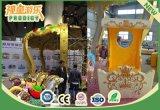 Carrossel da máquina de jogos internos ou ao ar livre do equipamento do divertimento para a venda