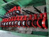 Válvula de mariposa de goma reemplazable suave en válvulas con el Ce y la ISO aprobados (CBF02-TA04)
