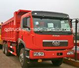 De Etiopía del carro de volquete 6X4 de China FAW 30 toneladas 371/carro de vaciado resistentes
