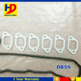 Motor de Doosan Daewoo dB58 que revisa o jogo da gaxeta