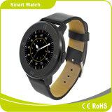 Reloj elegante de Bluetooth de la pantalla sedentaria de Siri IPS del podómetro del teléfono móvil del iPhone de Mtk2502 Androind