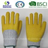 Анти- перчатки безопасности перчаток предохранения от работы вырезывания