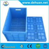 Envases de plástico grandes amontonables rectángulo rígido del vehículo o de la fruta