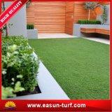 반대로 Uvartificial 플랜트 녹색 잔디밭 인공적인 잔디 및 가짜 잔디밭
