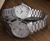 OEM BRITÁNICO de los relojes de los hombres del diseño del acero inoxidable 316L