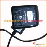 La migliore frequenza per il trasmettitore Bluetooth di telecomando del tasto rf del trasmettitore 4 di FM passa il kit libero dell'automobile