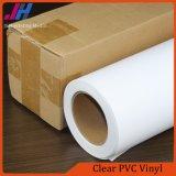 PVC transparent brillant Vinyle pour la publicité intérieure