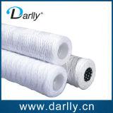 Cartouche filtrante de blessure de chaîne de caractères de coton avec le faisceau de solides solubles