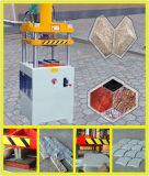 Pressa di stampaggio di pietra idraulica per i lastricatori del giardino di taglio/plaza/via