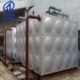 El tanque de agua usado industria del acero inoxidable
