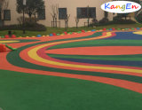 Granules colorés en caoutchouc de la surface EPDM de plancher de jardin d'enfants