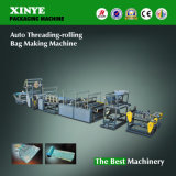 Auto Threading Rolling Garbage Bag Making Machine