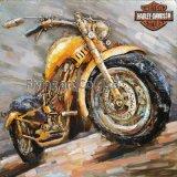 電気バイクのための3D金属の絵画壁の芸術
