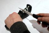 Профессиональное качество, руководство, процесс этапа заточника 3 лезвия ножа для того чтобы хонинговать ножи керамических, стали и металла, заточник, инструмент кухни