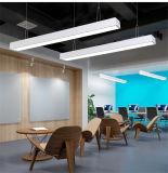 luz linear suspendida 40W do diodo emissor de luz para o hotel do escritório