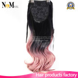 DIY eurasische blonde Farben-Menschenhaar-Extension des Jungfrau-Haar-Hairpieces/#613