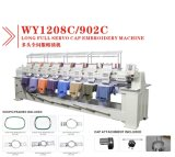 A alta velocidade de Wonyo 8 cabeças computarizou a máquina do bordado apropriada para o bordado do vestuário de Cap/T-Shirt/Finished feito no melhor preço de China