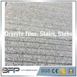 중국 눈 지면 벽 층계 단계 포장 기계 연석 조경 Palisade 싱크대를 위한 회색 까만 제트기 안개 화강암