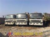 يستعمل [كنكرت ميإكسر] شاحنة [إيسوزو] [9م3] لأنّ عمليّة بيع
