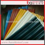 Плитки крыши цвета смешивания Baoshi гальванизированные сталью гофрированные стальные в дешевом цене
