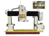Vollautomatische Steinausschnitt-Maschine für das Ein Profil erstellen des Handlaufs/der Geländerdocke/der Spalte