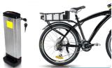 Rückseite tragen des Lithium-36V Fahrrad-Batterie Ionender batterie-36V15ah E für elektrische hintere Fahrrad-Batterie der Zahnstangen-1000W