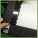 Double-Sided магнитная черная белая доска с сочинительством типа стойки