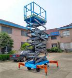 Elektrische hydraulische der Qualitäts-9m Scissor Arbeitsbühne (SJZ0.5-9)