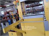 Machine de vulcanisation en caoutchouc de bâti