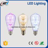 3W ST64 Glühhelle LED Birne der licht-Lampe Birnen-E27