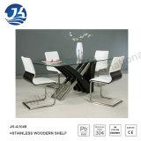 Nuevo vector de cena de madera del acero inoxidable del diseño (JK-A1049)