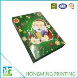 卸し売りFoldableボール紙の光沢のある仕上げのクリスマスのギフト用の箱