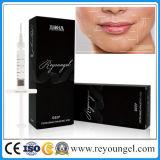 Reyoungel injizierbare Hyaluronic Säure-Hauteinfüllstutzen-Lippenverbesserungs-weicher Gewebe-Datenträger