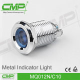indicatore luminoso di indicatore di 12mm LED per strumentazione (MQ12N/F10)