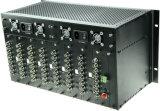 64V1d 64チャネルのビデオ視覚のトランシーバ1のRS485光ファイバトランシーバ