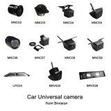 ユニバーサル小型車の背面図のカメラ