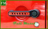 ジープのラングラーJk赤い型の鋳造のドアハンドルの挿入