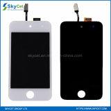 Piezas de reparación de la pantalla táctil del LCD del teléfono móvil para el tacto 4 del iPod