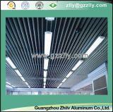 Teto vertical falso de alumínio azul da tela do estilo para a decoração interna ou ao ar livre