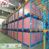 ISO aprobó el estante caliente del metal del estante del almacén del metal de la venta