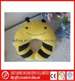 柔らかい蜂の首の枕のかわいいプラシ天のおもちゃ