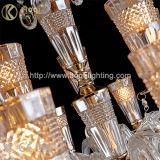 Luz cristalina moderna de la lámpara del nuevo diseño